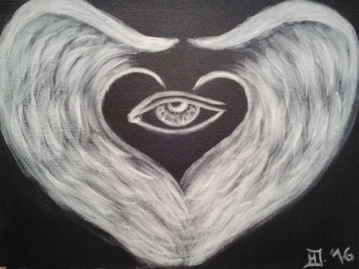 """Angels Love"" ... Angel. Love, Mystic"