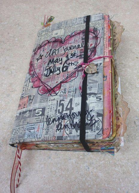 tissue tape cover creativelenna, via Flickr