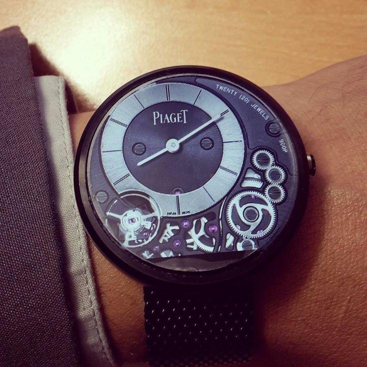 #watchfaceoftheday on #smartwatch #Moto360 Piaget Altiplano 900p #Tourbillon #watch #luxurywatch #watchface #watchfaces #androidwear #instawatch #watchporn #lgrurbane #watchurbane #huaweiwatch link: http://bit.ly/1jPzkjK by 1001watchfaces