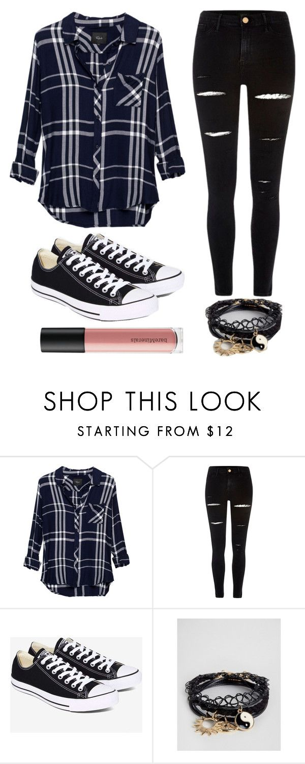 """""""Outfit #40"""" by unicornicamitha on Polyvore featuring Rails, River Island, Converse, ASOS and Bare Escentuals"""