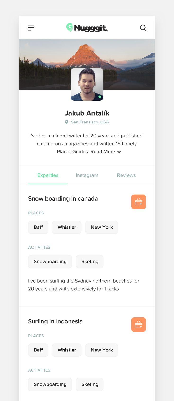 Travel Advisor Profile – Responsive