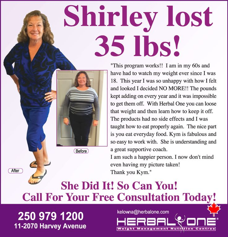 Another Success story In Kelowna at Herbal One!