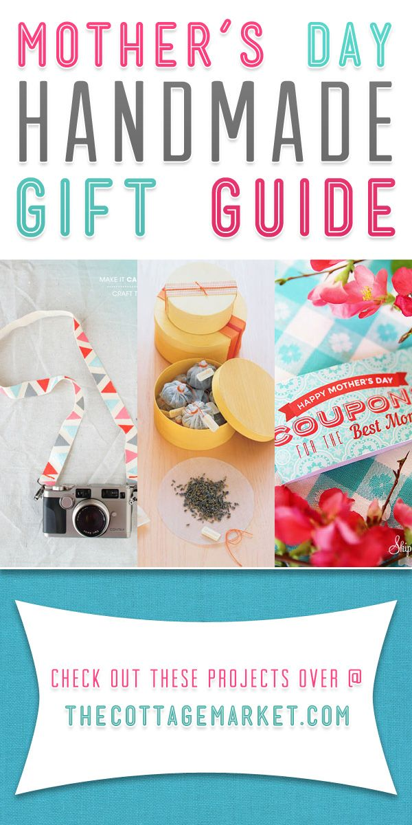 Mother's Day Gift DIY Projects Guide - The Cottage Market