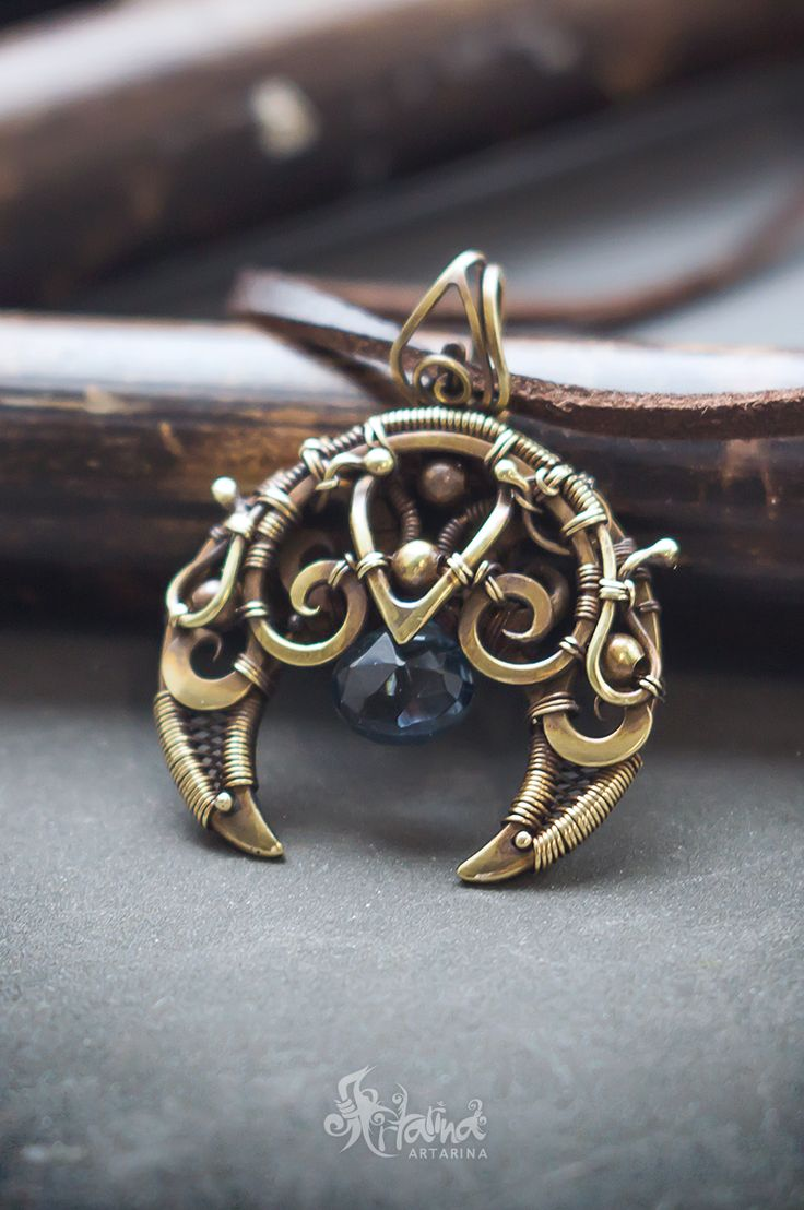 141 best Wire wrapped pendants images on Pinterest | Wire jewelry ...