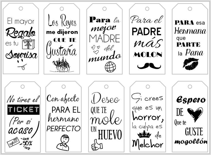Freebie: Etiquetas imprimibles Gratis para tus regalos | Handbox Craft Lovers | Comunidad DIY, Tutoriales DIY, Kits DIY