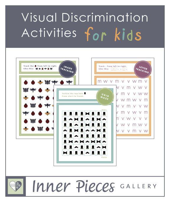Visual Discrimination Activities for Kids
