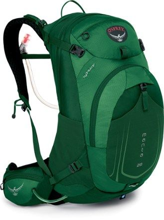 Osprey Manta AG 28 Hydration Pack - 2.5 Liters Spruce Green M/L