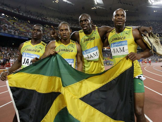 Team Jamaica Stripped of 2008 Men's 4x100m Relay Olympic Gold Medal
