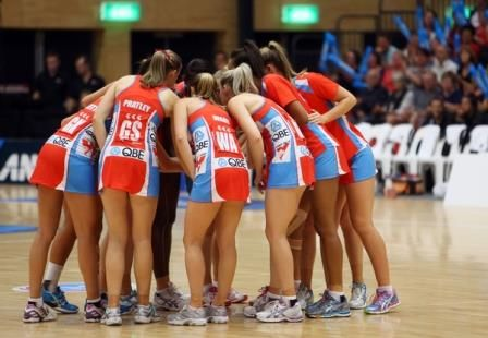 Swifts send off stalwarts in spectacular style - THE NSW Swifts gave two of their star players a stylish send-off tonight with a 62-42 end-of-season win over the Tactix before an appreciative audience in Sydney.
