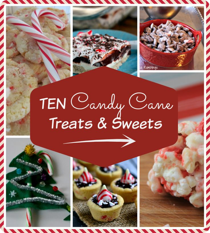 10 Candy Cane Treats & Sweets! http://kileigh7.com/2014/11/15/candy-cane-treats-sweets/