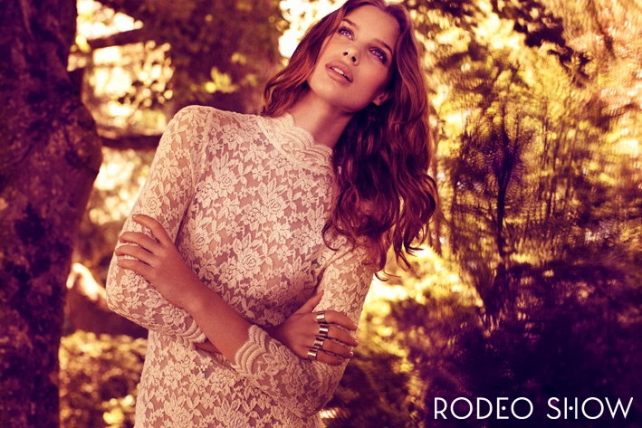 Rodeo Show Autumn Winter Campaign- shot by Steven Chee, styling by Sarah Bonett, Hair & Makeup by Anastasia Pappas