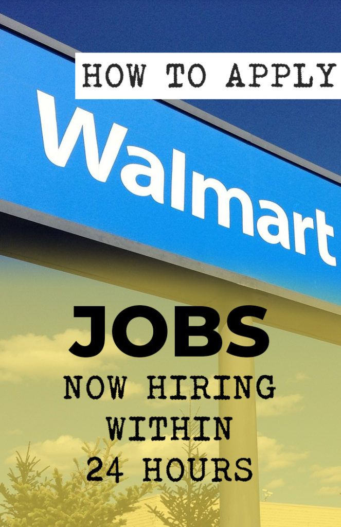 Walmart Is Hiring Job How To Apply Find A Job