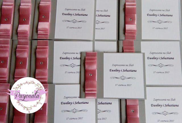 pasjonata.zaproszenia: # 79 Zamówienie pani Eweliny i pana Sebastiana