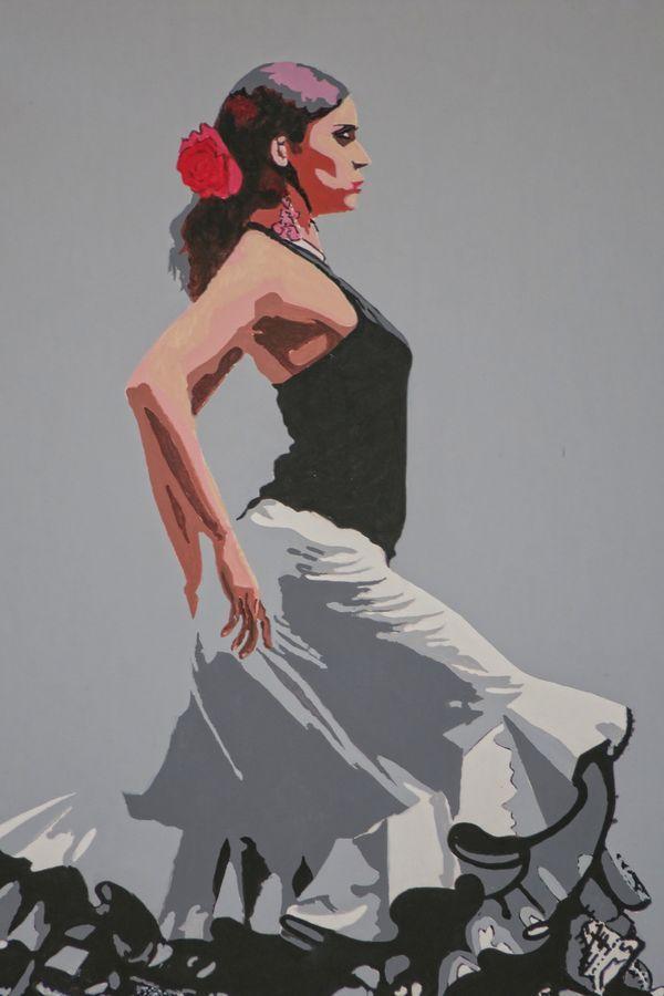Flamenco dancer - nu