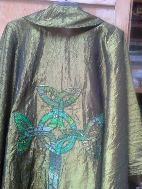 Back of chasuble. March 2015