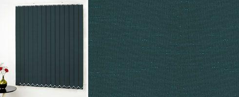 teal vertical blinds | Louvolite Shot Silk Teal Vertical blind