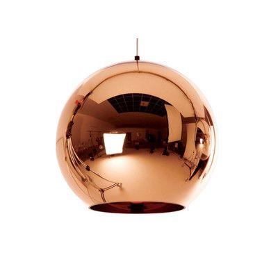 Dream pendant: Tom Dixon Copper Pendant