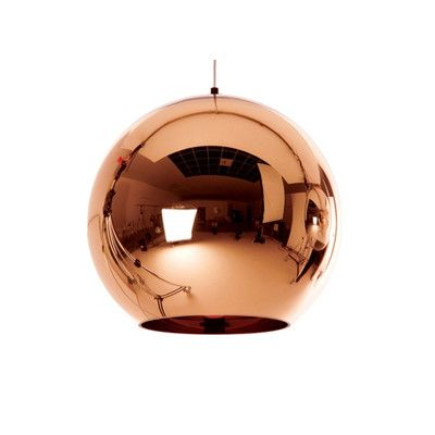 Dream pendant: Tom Dixon Copper Pendant