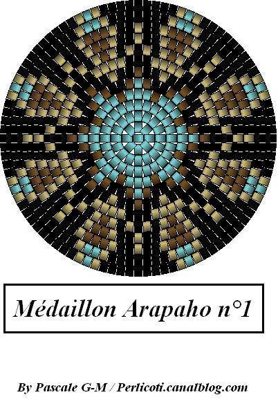 Peyote Mandala Medallion Pattern Arapaho_1