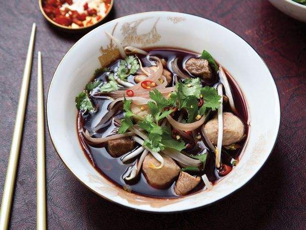 Blood is bold, a bit bitter—and, frankly, kind of creepy. But we like it—especially in this spicy, delicious Thai noodle soup.