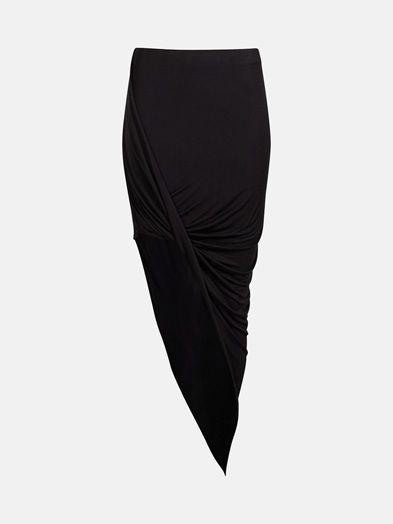 Ivory skirt   7167705   Sort   BikBok   Norge