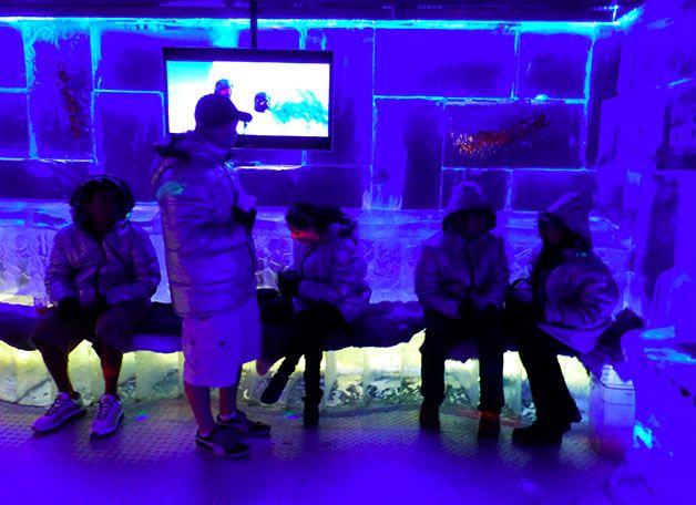 Icebarcelona: un bar complètement givré face à la mer   Les bons plans de Barcelone