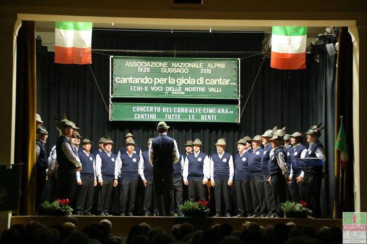 """Fotogallery concerto alpino """"Coro Alte Cime"""" - http://www.gussagonews.it/fotogallery-concerto-coro-alte-cime-ottobre-2016/"""