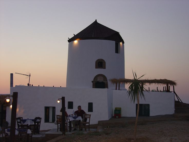 Visit Greece | Windmill on #Skyros. #Sporades #Greece #greekislands #greekphotos