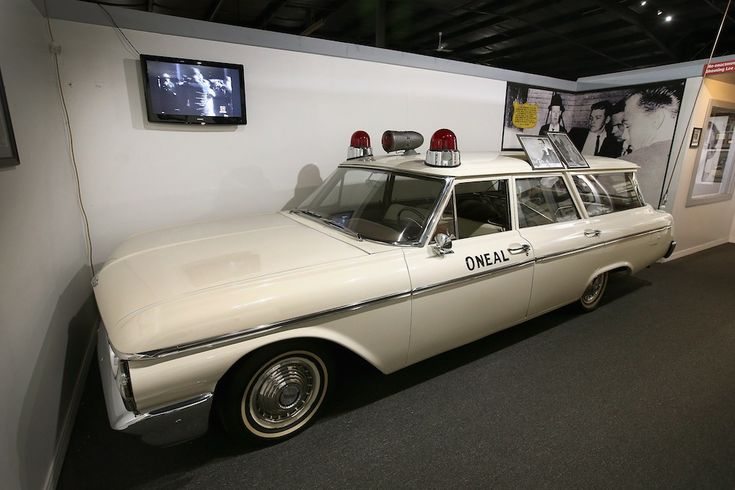 The ambulance that transported LHO to Parkland Hospital after he was shot by Jack Ruby