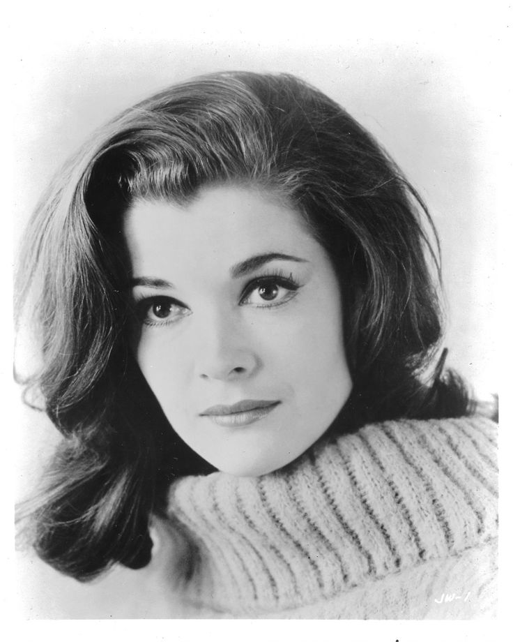 Jessica Walter (Lucille Bluth) in the 60's
