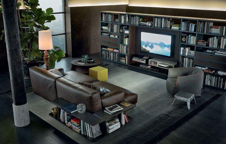 TV en audio oplossing van Poliform
