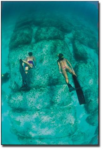 The Stones of the Lost City of Atlantis in North Bimini