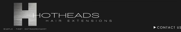 Hotheads Tape Hair Extensions www.theloftsalonstudio.com