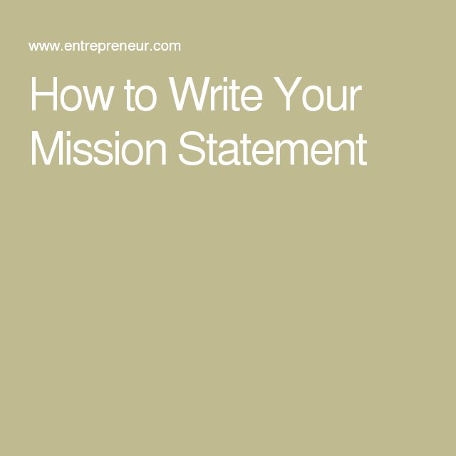Writing a Compelling Vision Statement