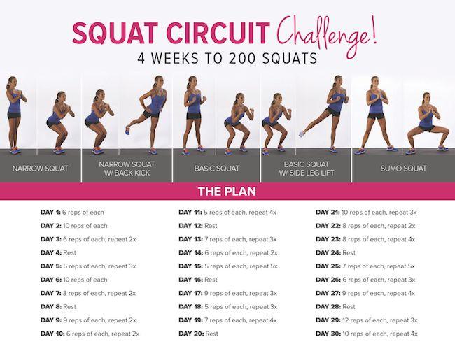 July Squat Challenge