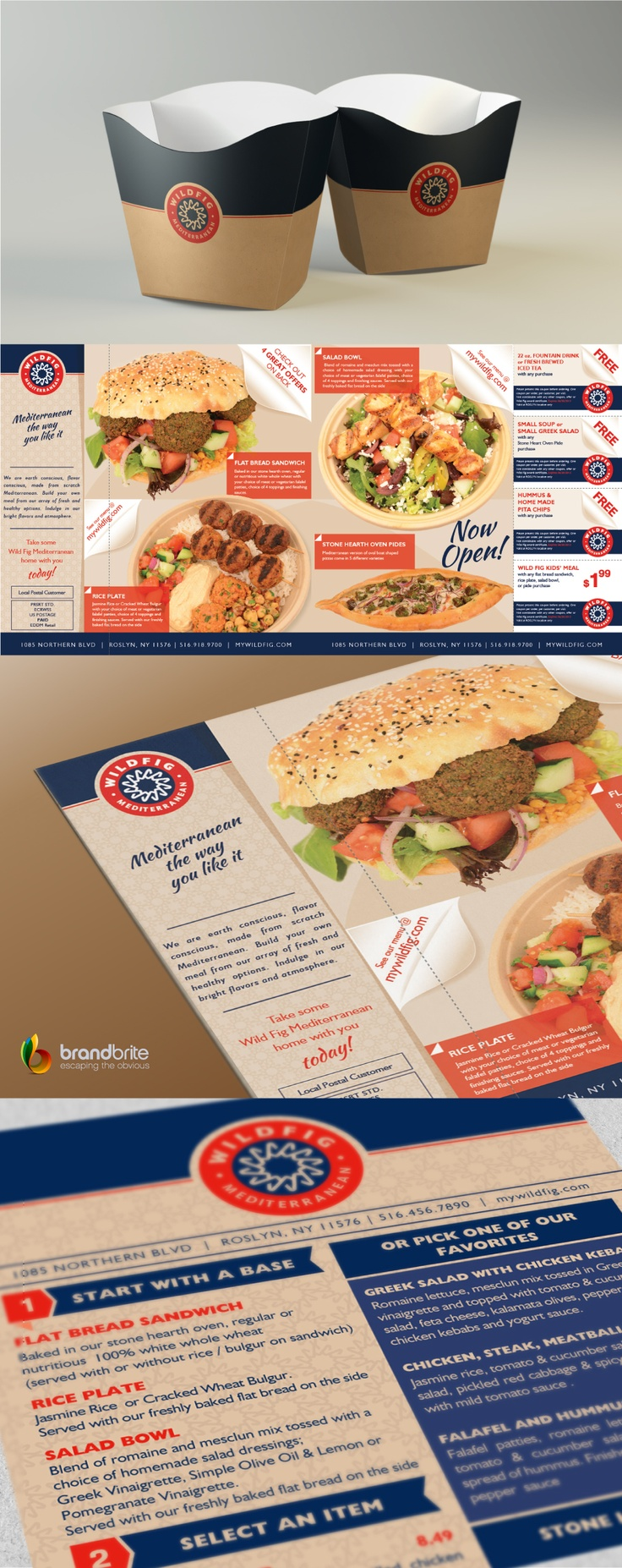 A sneakpeak from the branding materials that i worked for Wildfig Restaurants after working on their logo. www.mywildfig.com
