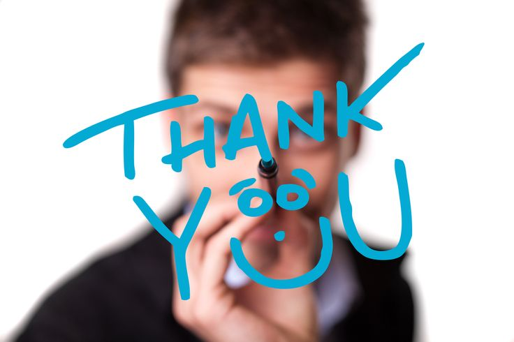 What To Say In Your Thank You Letter Besides 'Thank You' // Job Interview Follow Up