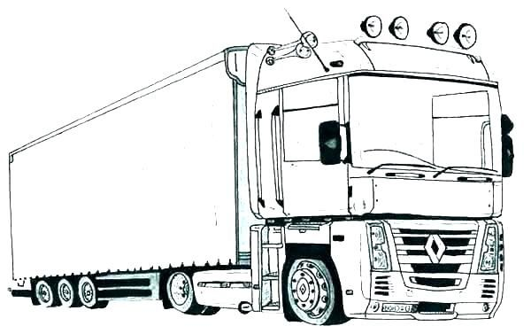 Printable Truck Coloring Pages Free Coloring Sheets Truck Coloring Pages Monster Truck Coloring Pages Cars Coloring Pages