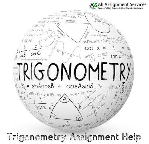 Trigonometry Assignment Help | Trigonometry, Learning math, Calculus