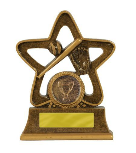 Holy Star Baseball Trophy - 120mm