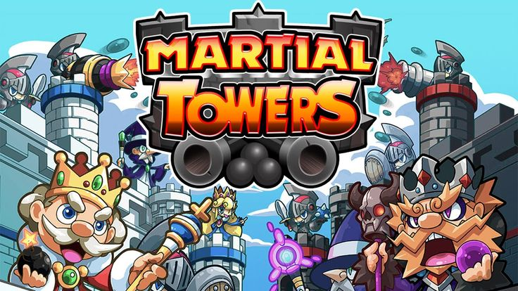 Martial Towers out now in Spain, other countries to follow soon!  Coming soon for iOS and Android in the Apple App Store, Google Play and Amzon Appstore ! Play cross-platform with your friends!  Enter the battlefield now! Become the ultimate ruler of your kingdom in this artillery game - now and for FREE. Build-up a strong and mighty castle and defend it by destroying your enemies in single player or multiplayer mode. Choose your weapons and attack your opponent's castle till he surrenders.