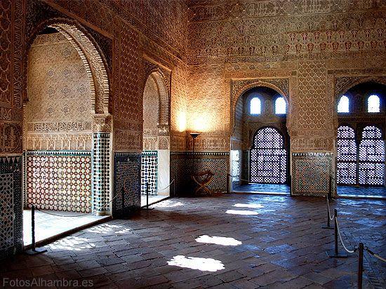 Salón de embajadores en la Alhambra