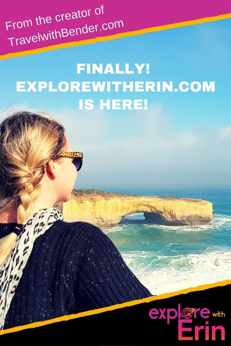 Explore With Erin is finally here. Been looking for Erin Bender? Her brand new website is now live!