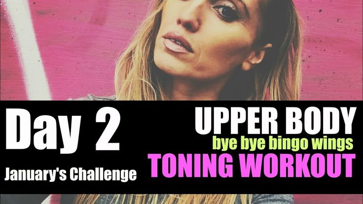 Get Rid of Bingo Wings - Upper Body Toning Workout - easy to follow and no weights - YouTube