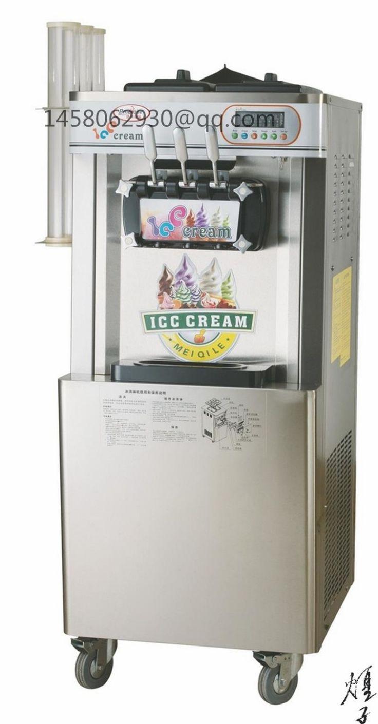CE approved 32L batch freezer vertica soft ice cream machinery Popsicle Gelato Batch Freezer ice cream making machine