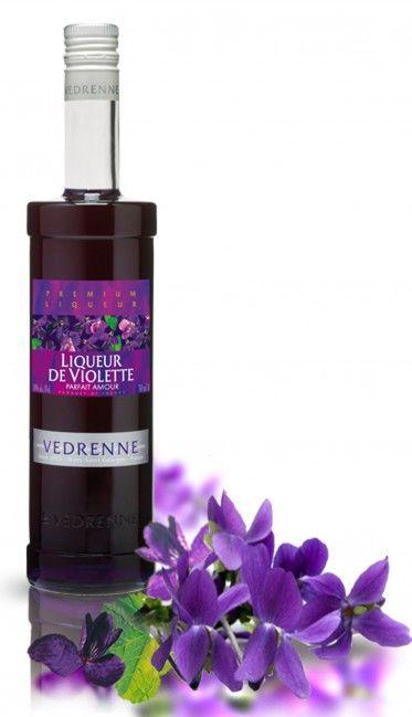 Liqueur de Violette Vedrenne - 70cl - 18% d'alcool