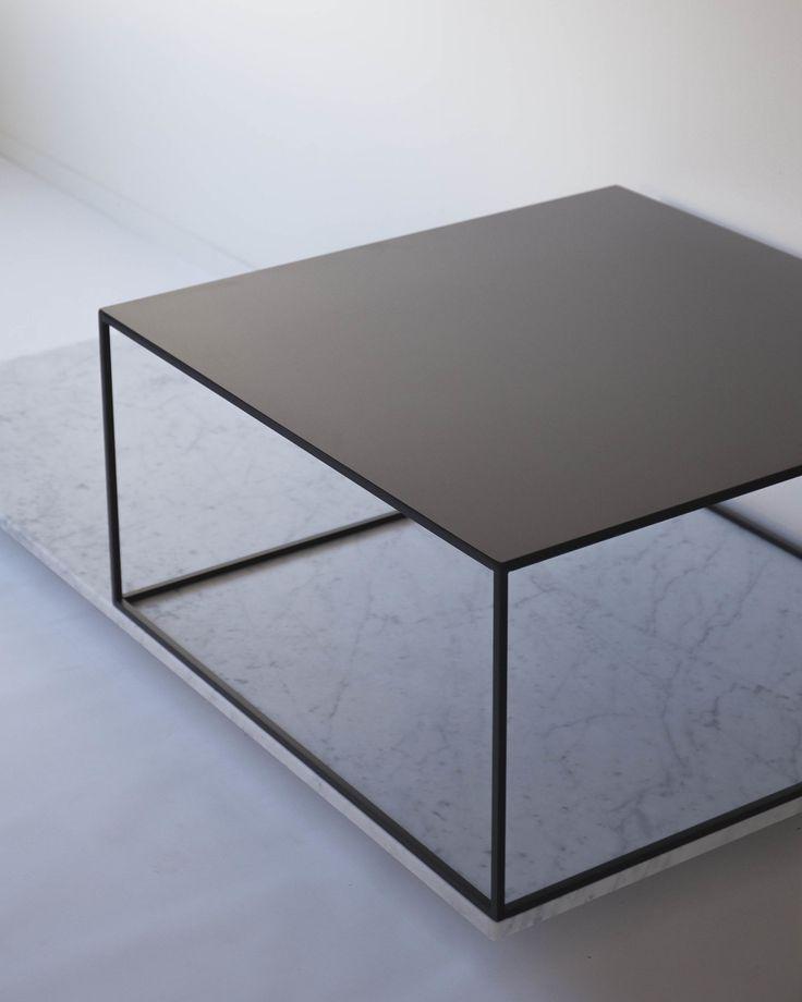 Soffbord stål, 80 * 80 * 40 cm
