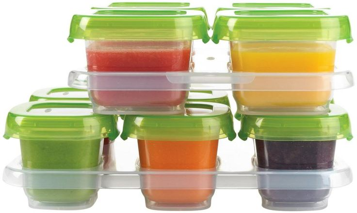 OXO Tot homemade baby food storage containers | Cool Mom Picks