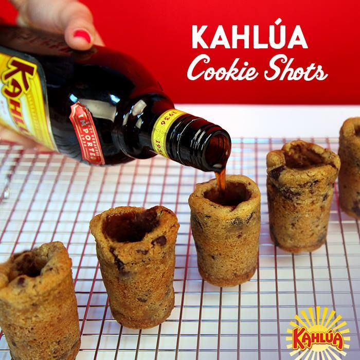 A shot is cool, a shot served in a cookie shot glass is awesome. Here's our how to guide for making them at home
