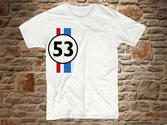 herbie a 100 cotton branded Tshirt in a classic by bluebeeshirt, $15.50